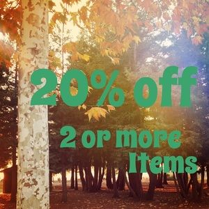 🍁20% Off 2 or More Bundled Items!🍁